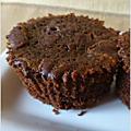 Muffins au chocolat (et grosses pépites)