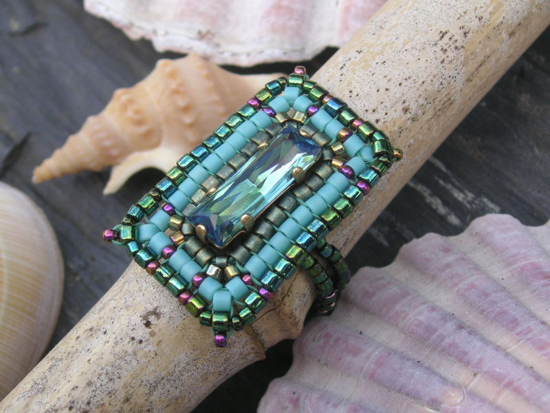Bague Ines turquoise