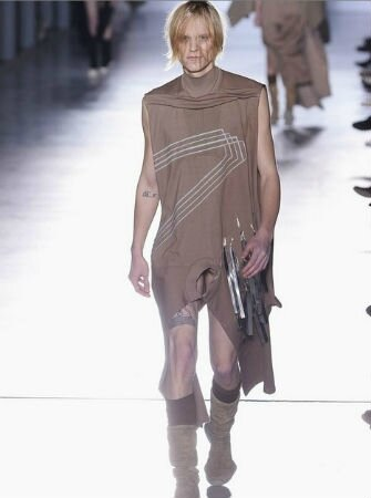 rick owens fashion week collection automne-hiver 2015