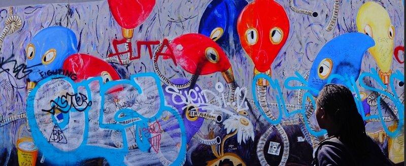 Souvenirs du mur de Berlin - Avril 2015