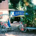 Chiang Ma Cyclo pousse