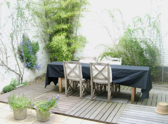 le jardin fa ade balcon 2006 el 39 lef bien. Black Bedroom Furniture Sets. Home Design Ideas