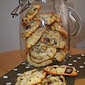 Cookies moelleux aux petites de chocolat