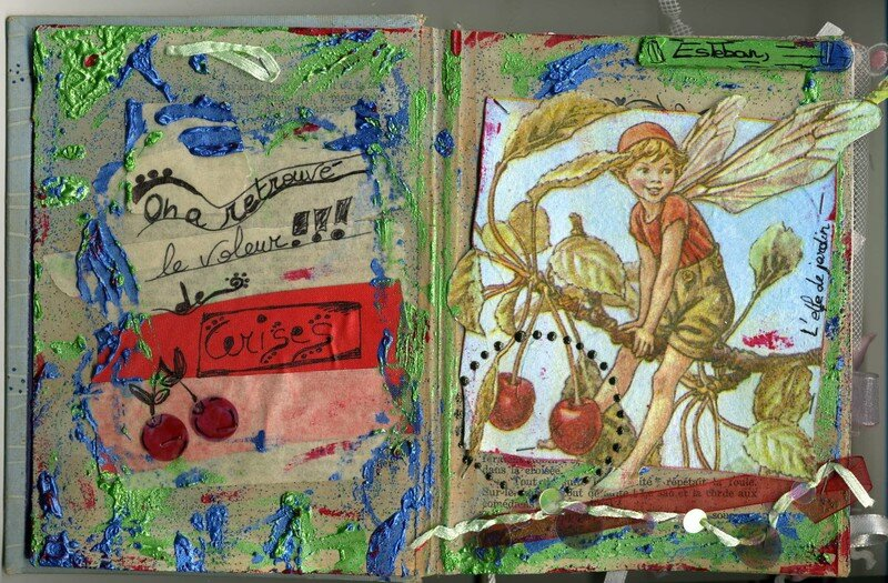 Le voleur de cerises, Altered book, 2007