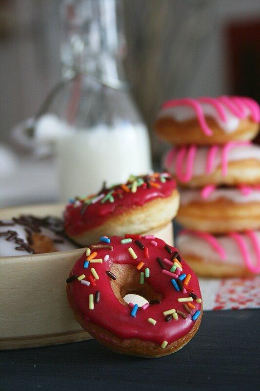mini donuts au gla age passion culinaire by minouchka. Black Bedroom Furniture Sets. Home Design Ideas