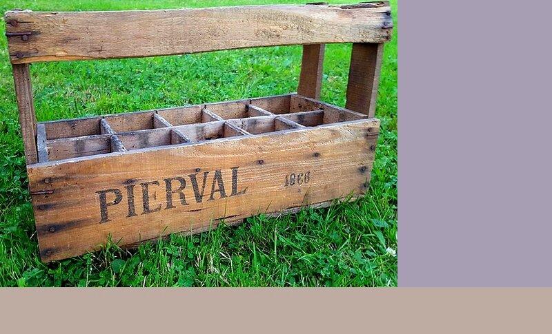 9 caisse à bouteille Pierval