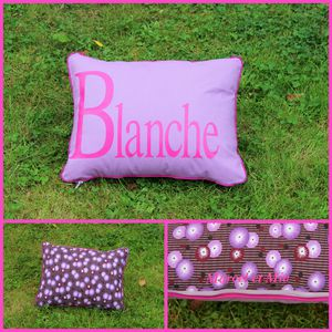 coussin Blanche