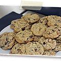 Cookies aux pépites de chocolat et aux noisettes (sans gluten)