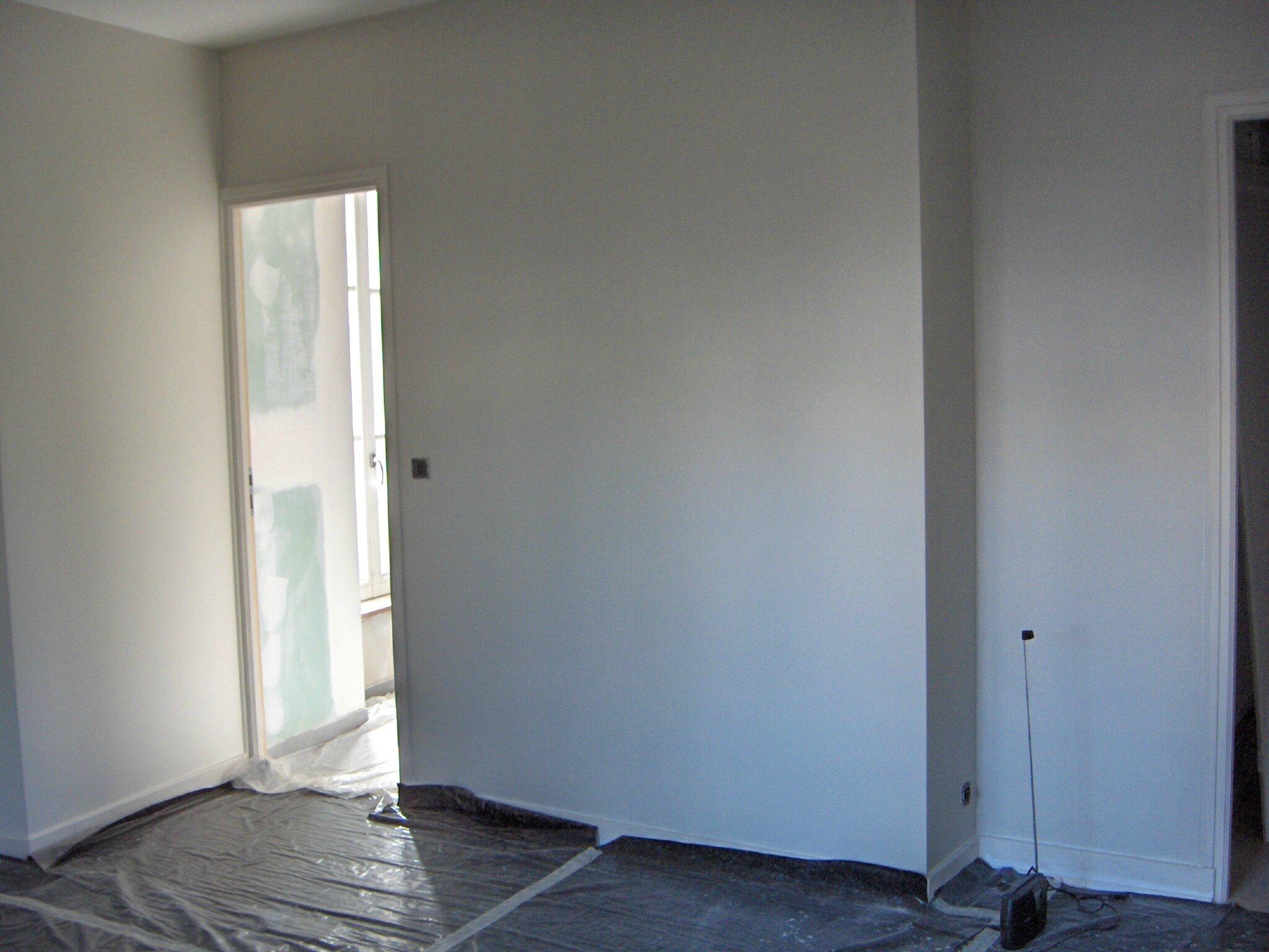 Avant pendant apr s d 39 une chambre parentale la maison for Creation chambre sans fenetre