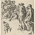 Hendrick goltzius, massacre of the innocents, ca. 1585–86