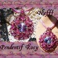 Pend Rosy rose