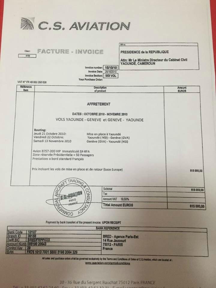 Paul Biya dilapide l'argent des Camerounais à Genève