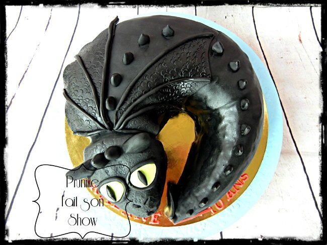 gateau dragon prunillefee 3