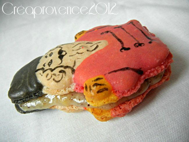 nutcracker macaron