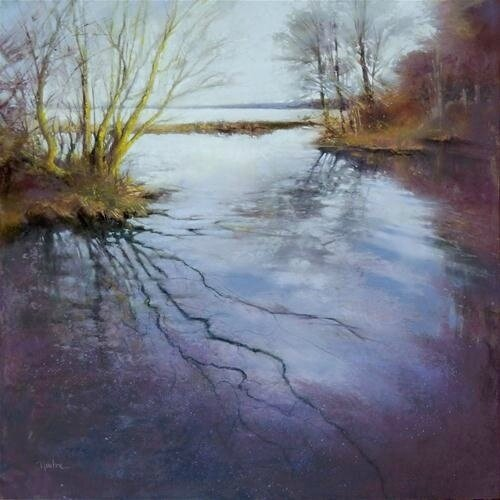 Barbara benedetti Newton B art-pastel-pastel-paintings
