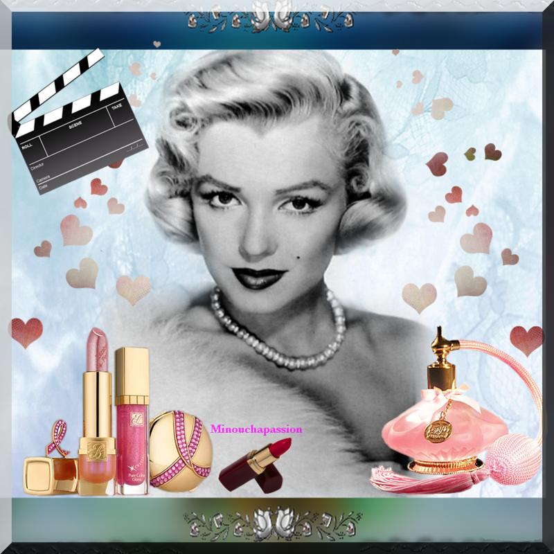 Marilyn création minouchapassion