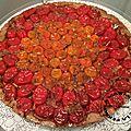 Tarte tatin de tomates cerises au caramel balsamique (thermomix)