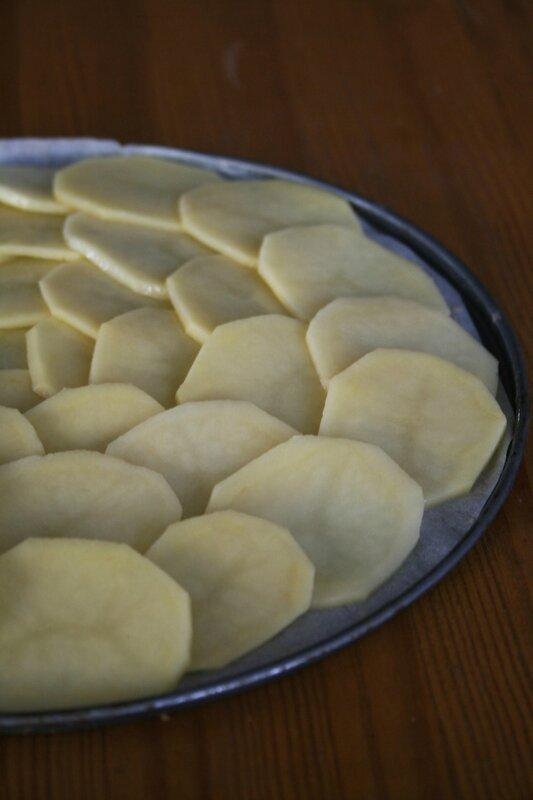 Pizza 100% pommes de terre - passion culinaire 2