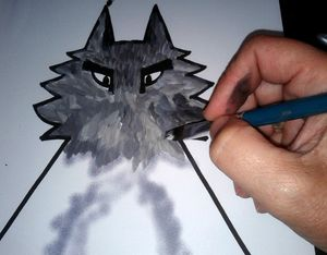 96_Personnages Animaux monstres_Le grand méchant loup (10)