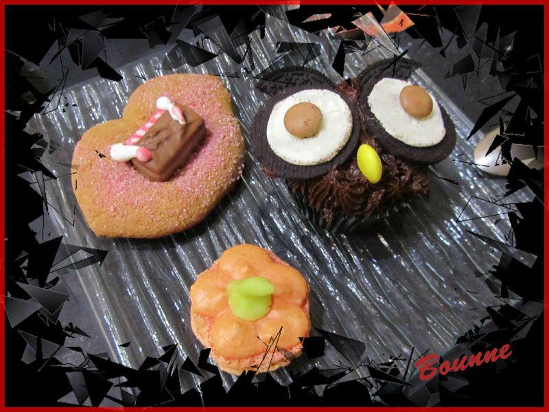dessert halloween 2012 cupcake hiboux(1)