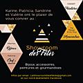Showroom des fêtes edition 2017 // les 9 et 10 décembre 2017