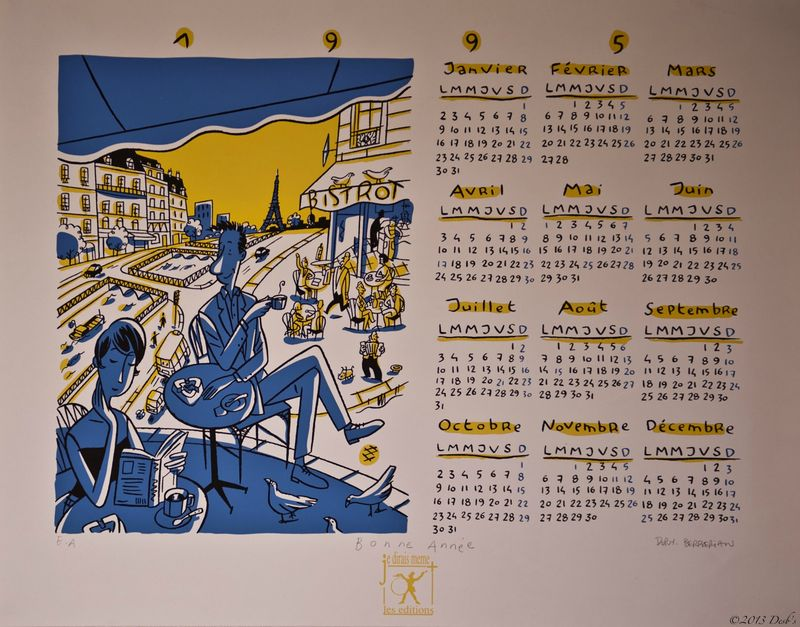 Calendrier 1995