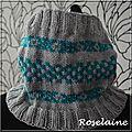Roselaine snood jacquard 2