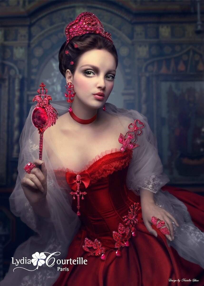 Lydia Courteille, 'The Scarlet Empress' Collection