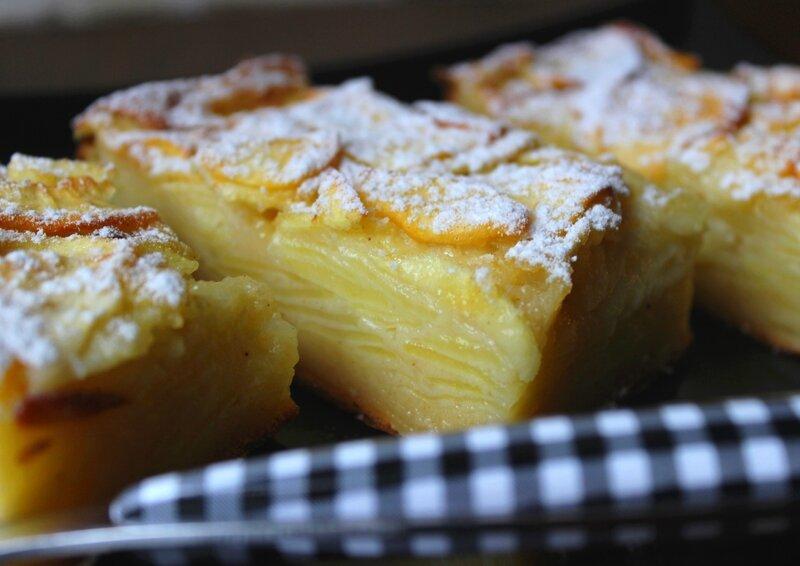 Gâteau invisible pommes (2)
