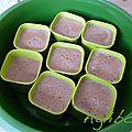 {recette} flan chocolat tupp