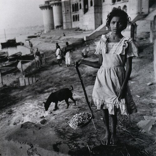 Burning Ghat, Benares, India, 1989