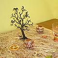mon manège à décoration de table d'automne