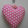 Coeur en tissu 034