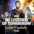 Dc legends of tomorrow sur tmc samedi !