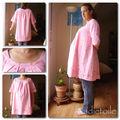 Robe à encolure plissée # 1