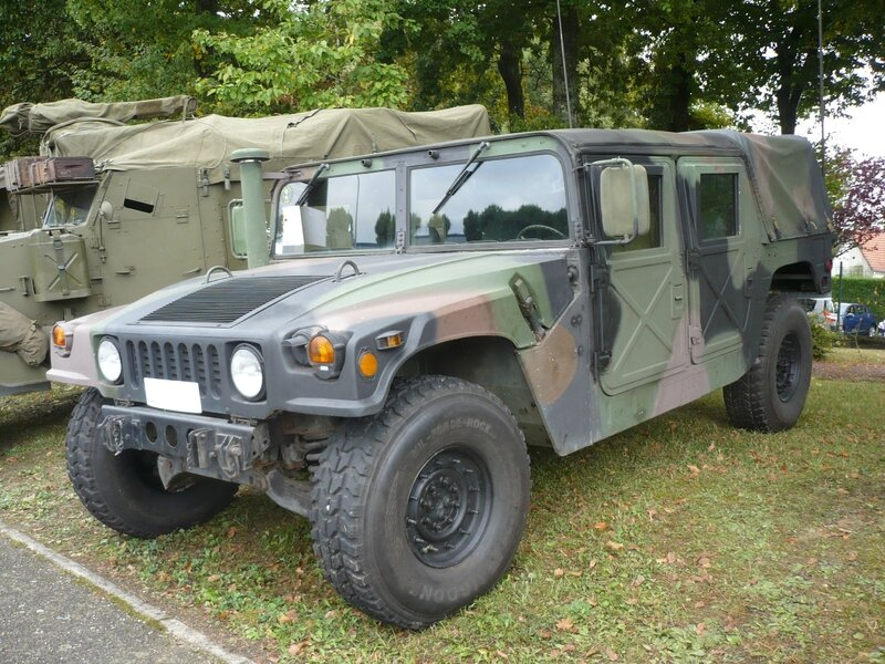 HUMMER H1 militaire 1986 Créhange (1)