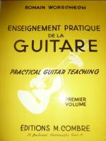 Méthode guitare Romain Worschech