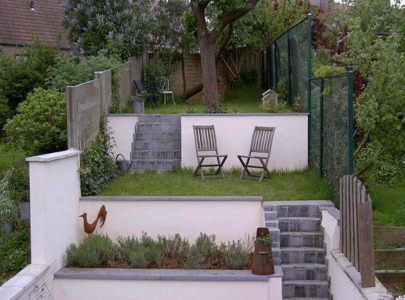Le jardin fa ade balcon el 39 lef bien for Amenager un petit jardin carre