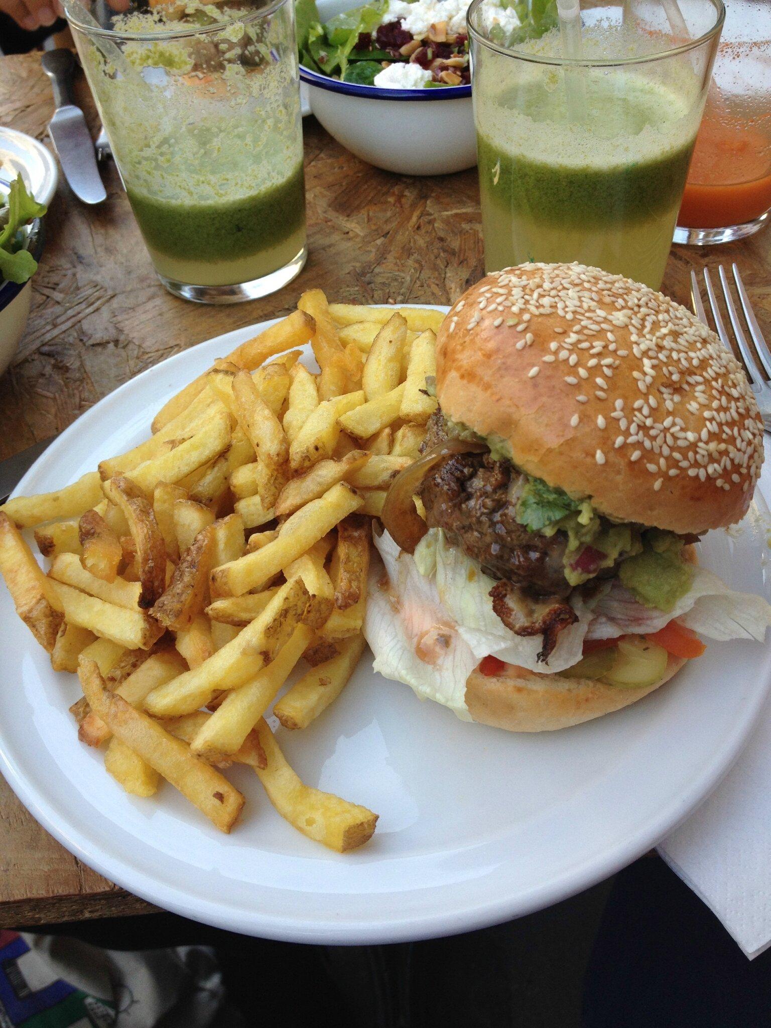 La Cantine California pour manger comme en Amérique en plein Paris, Coooool !