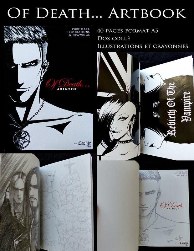 Présentation artbook Of Death