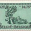Abbaye d'Orval, reconstruction, 5ème série, vert 3F25 + 16F75