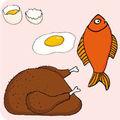 Viandes, poissons, oeufs