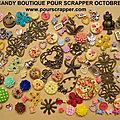 Blog candy ,boutique pour scrapper.