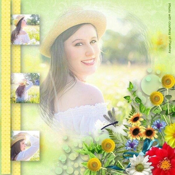 Louise- template volume 9- kit LouiseL Golf Day - photo pixabay