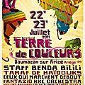Festival terre de couleurs et emmaüs
