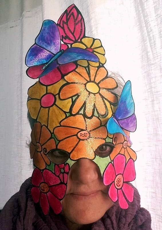 237_Masques_Fleurs et papillons (51)