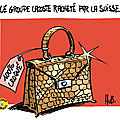 Lacoste rachet par la Suisse