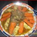 Tajine viande et légumes