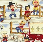 michael miller lil cowpokes