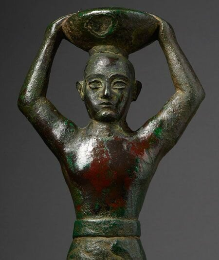 The Morgan mounts exhibition of extremely rare copper figures from ancient Mesopotamia